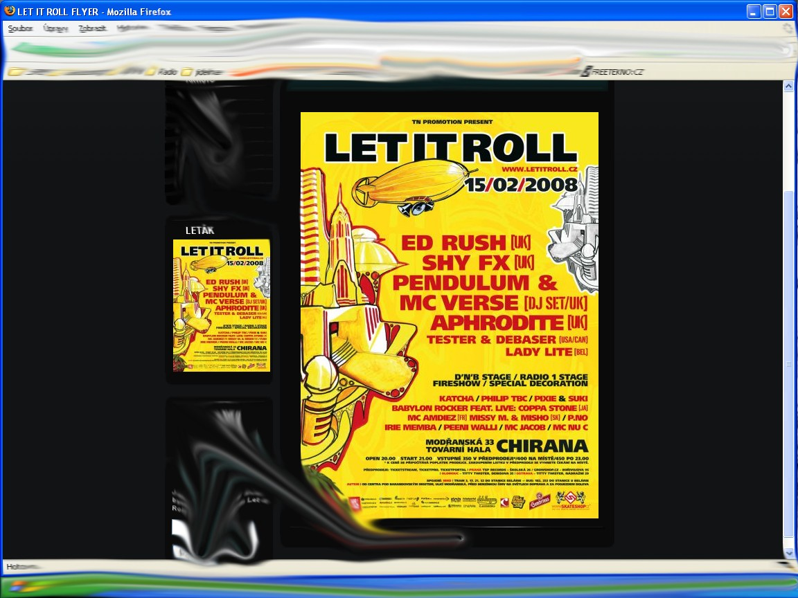 Plakat z Let it roll-u
